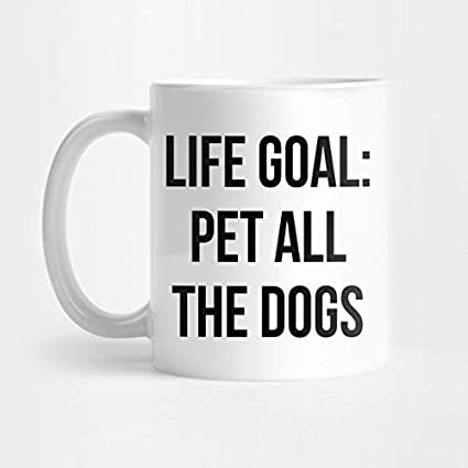 Amazon com: Life Goal Pet All The Dogs Shirt Funny Dog
