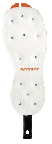 Korkers OmniTrax V3.0 Studded Felt Fishing Shoe Sole, 14