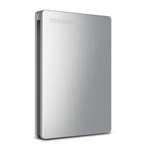 Toshiba Mac Hard Disk - Toshiba Canvio Slim II 1TB Portable External Hard Drive for Mac (HDTD210XSMEA)