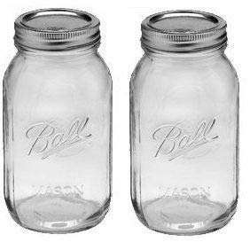 (Ball 2 Quart Wide Mouth Canning Jar, Pack of)