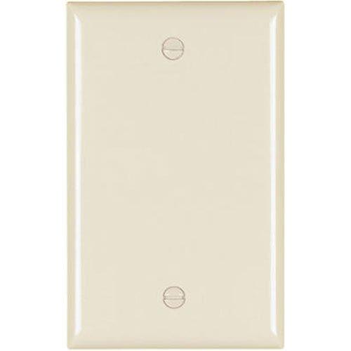 - PASS & SEYMOUR TP13LACC30 1 Gang Blank Nylon Wall Plate, Almond