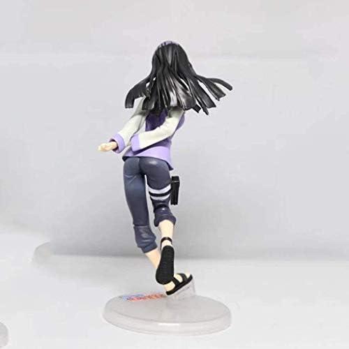 Naruto Naruto Shippuuden Naruto Gals Hinata Neji Actie Karakter-PVC Actie Karakter Model-Geschikt Gift voor Tieners-Gift Maat 20 cm