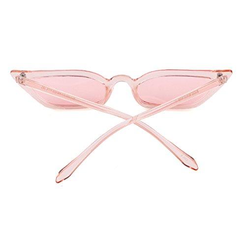 Adewu rettangoli per ragazze Eye rosa Cat vintage Occhiali trasparente donna sole da da OrOqRwa