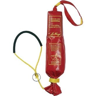 Lundhags Norrora Nordic Lifeline - Throw Bag & Throw Line for Ice and Water Rescue - Throw Rope Bag