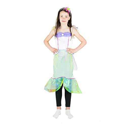 Bodysocks Girls Mermaid Fancy Dress Costume (7-9 Years)