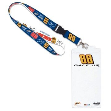 WinCraft NASCAR Dale Earnhardt Jr 75014015 Credential Holder with Lanyard