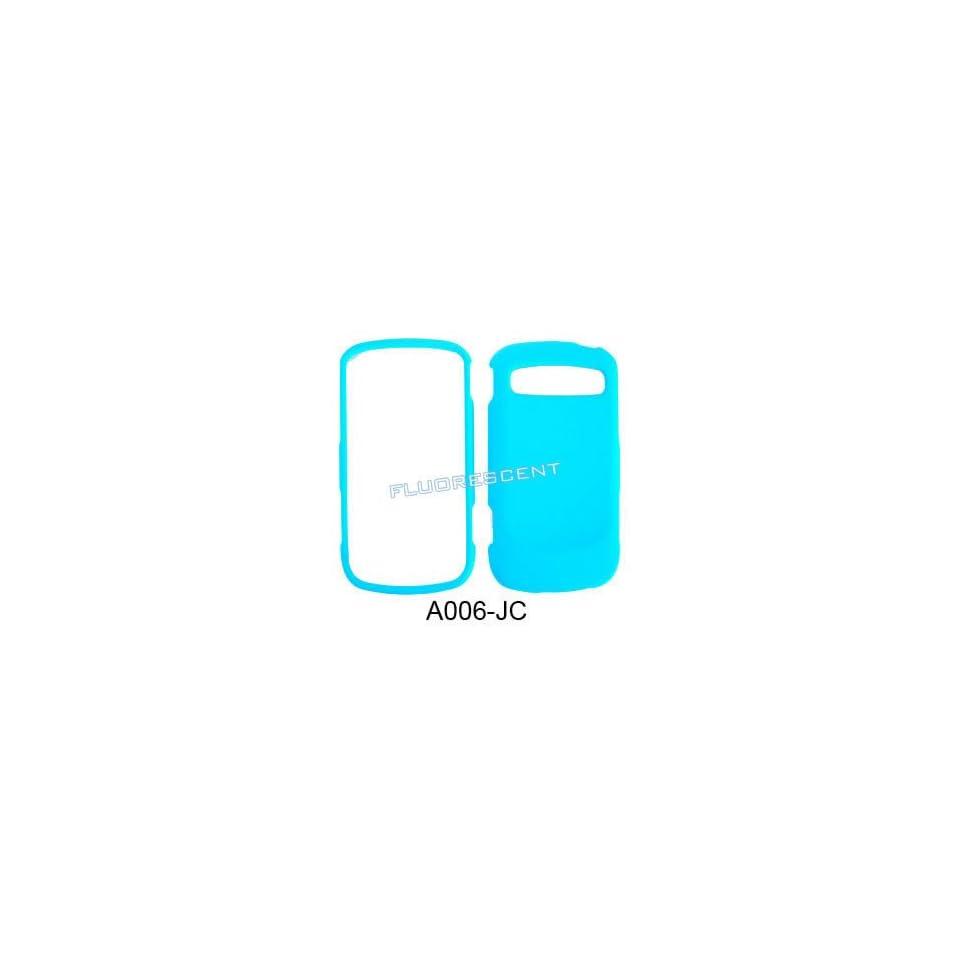FLUORESCENT LIGHT BLUE CASE COVER SKIN FACEPLAT Cell Phones