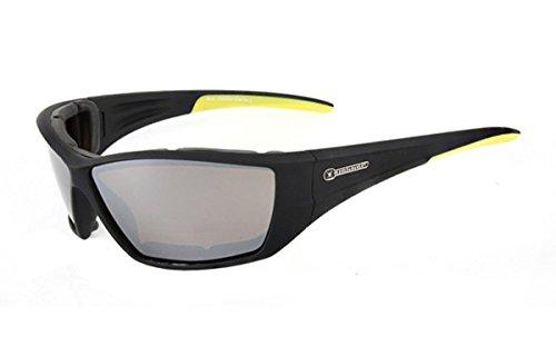 Slokker Sonnenbrille Modell CLIMBER Gletscher Farbe schwarz 8Pm7HRTr