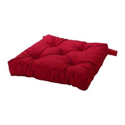 IKEA Home Living Room Decor Malinda Chair Cushion, Red (Ikea Accent Chairs)