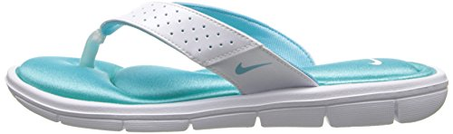 Nike Sweet Classic High (Gs/Ps) - Zapatillas de ante para niño White/Polarized Blue