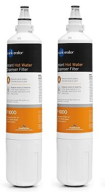 InSinkErator F-1000 Replacement Water Filter 1-Pack of Under Sink Water Filter Cartridge for Water Filtration Kit Alfi
