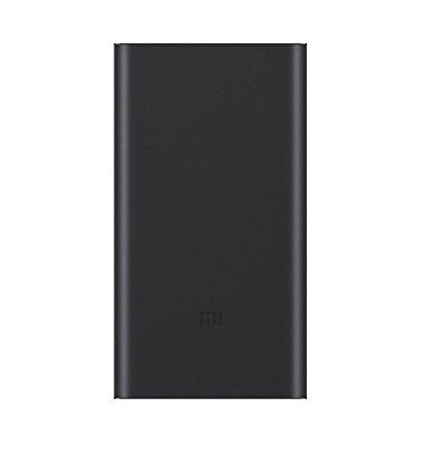 Xiaomi Mi 10000mAh Banca 2 di potere Caricabatteria portatile, ultra-compatto e leggero a due vie di ricarica rapida 10000mAh batteria esterna per Xiaomi Nota 2 MIX, iPhone 7/6 / 6S e più, blu scuro