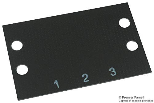 (MS-3-141 - Terminal Block Marker, Terminal Block Marker, 141 Series Barrier Blocks, 1 to 3, 11.13 mm, (Pack of 20) (MS-3-141))