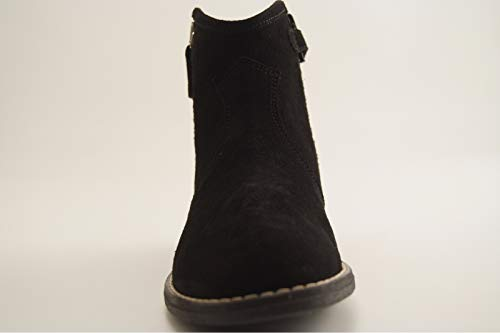 Noir Michelle Peau Noir Boots Reqins Star ETI n7YOPxxqwA
