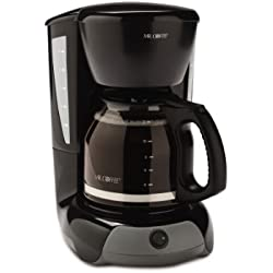 Mr. Coffee 12-Cup Switch Coffee Maker, Black