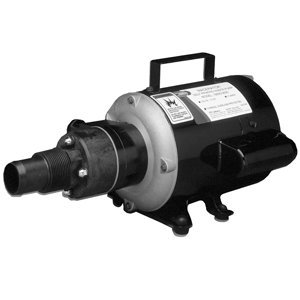 Jabsco 18690-0000 Marine Run Dry Heavy Duty Macerator Waste Pump (115-Volt, Marine Model)