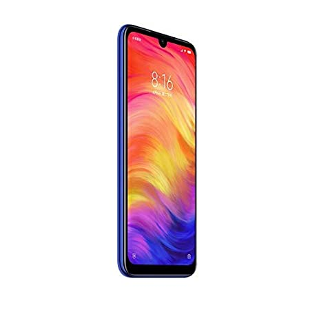 Xiaomi Redmi Note 7, 64GB/4GB RAM, 6.30 FHD+, Snapdragon 660, Blue - Unlocked Global Version, No Warranty