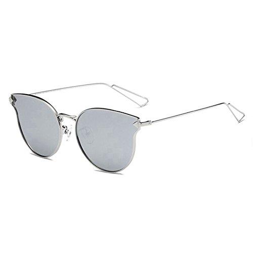 Mercurio sol de Con Marco de femeninas metálicas montura Plata gafas masculinas de gran de cara redonda de de 6 sol Shop Gafas sol y polarizadas Gafas moda flechas q4TgFS