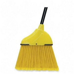 Angle Sweep Broom,12''W Sweeper,48''L Handle,Black Handle (WIMH50202400) Category: Household Brooms by Wilen Professional (Image #1)