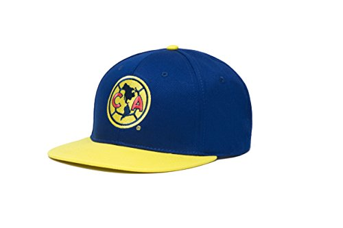 Fan Ink Limited Club America Basic Collection Two Tone Snapback Hat (Cap America Club)