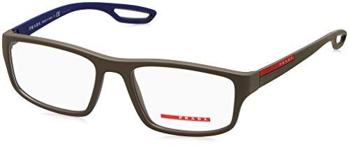 Prada PS09GV Eyeglass Frames UR41O1-53 - Brown - Frames Optical Prada