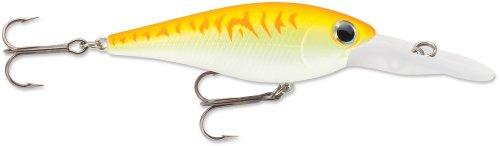 Storm Smash Shad 7 Fishing Lure, Orange Fire UV, 2-3/4-Inch