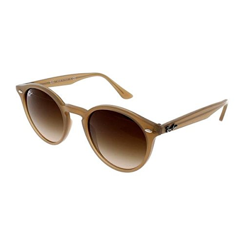 Ray-Ban Women's Highstreet Round Sunglasses, Dove Grey/Brown Gradient, One - Ray Ban Sunglasses Round Highstreet
