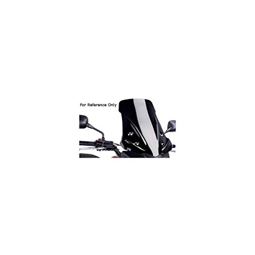 - 14-18 HONDA CTX700DA: Puig Touring Windscreen (BLACK)