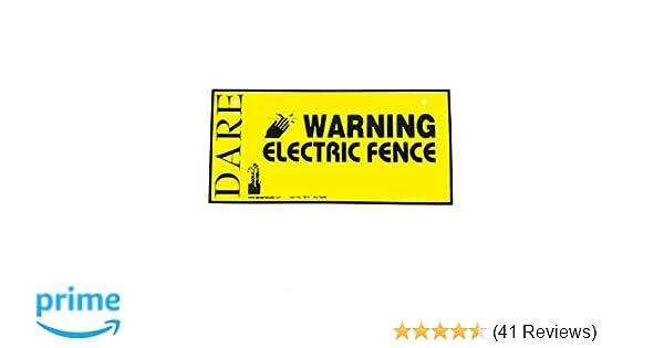 Dare 4X8 Warning Sign