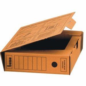Bene Archivbox 96900 A4 80mm braun