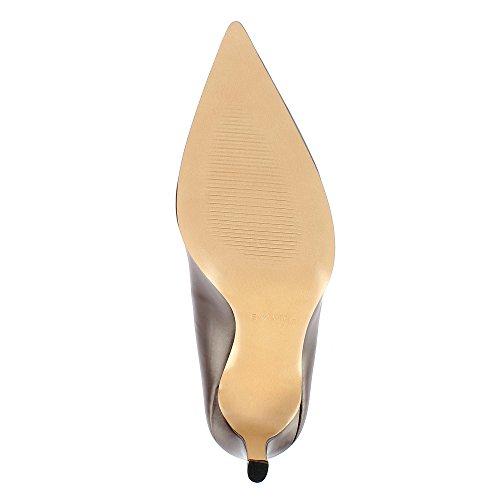 Evita NATALIA Damen Dunkelbraun Glattleder Shoes Pumps wwrfx