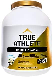 Natural Gainer Whey Protein Powder Vanilla (4.55 Lbs. / 16 Servings)
