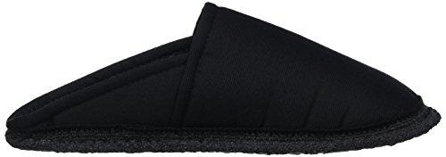 Kitz - Pichler Riva - Zapatillas de casa Unisex adulto Schwarz (schwarz Uni)