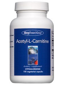 Allergy Research Group ACETYL L CARNITINE, 500 MG, CAPS 100