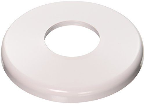 Hayward SP1041 White ABS Plastic Round Escutcheon Plate for 1-1/2-Inch Pipe