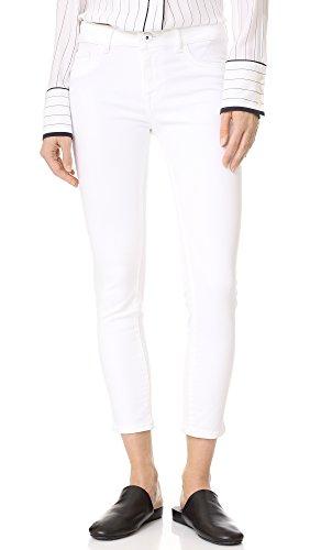 DL1961 Women's Florence Cropped Skinny Jeans, Porcelain, (Porcelain Dl)