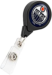 Edmonton Oilers NHL Team Retractable Badge Holder Ticket Clip Reel ID