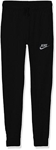 Nike Boys' Jersey Sportswear Pants (Black, S)
