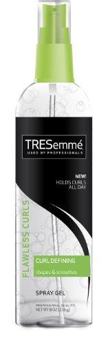 Tresemme Flawless Curls Curl Defining Gel Spray, 8 Ounce (Pack of ()
