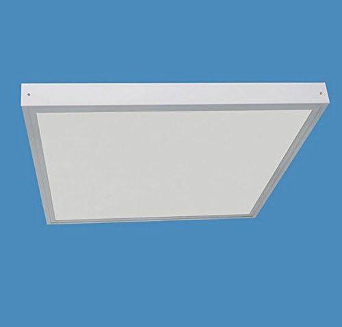 Kit de cadre de montage en surface pour panneau LED 600x600mm Blanc