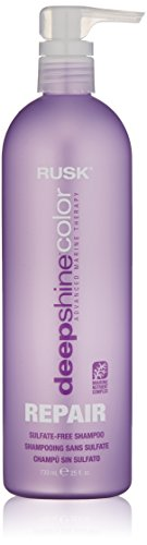 Rusk Hair Treatment - RUSK Deepshine Color Repair Sulfate-Free Shampoo, 25 fl. oz.