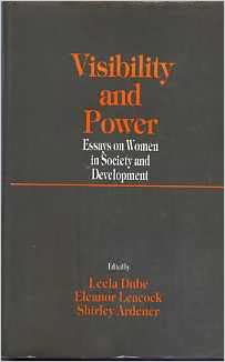 visibility and power essays on women in society and development visibility and power essays on women in society and development