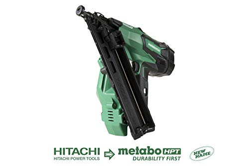 Metabo HPT NT1865DMAQ4 18V Cordless Angled Finish Nailer, Tool Only – No Battery, Brushless Motor, 15 Gauge, 1-1/4″Up To 2-1/2″ Finish Nails, Lifetime Tool Warranty