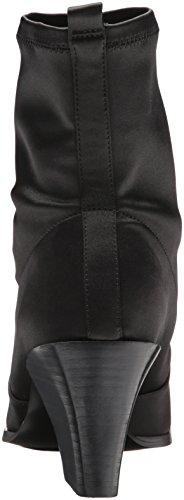 outlet best seller Nine West Women's Eshella Ankle Boot Black Satin discount choice cheap 2014 newest buy cheap best wholesale d5dz5tvl