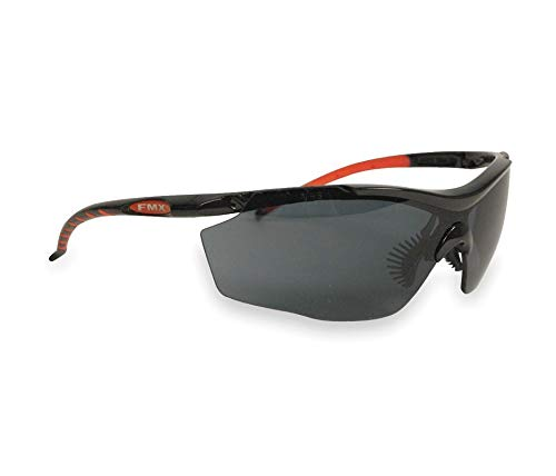 Fibre-Metal by Honeywelll T76005BS Smoke Lens Black Frames Safety Glasses Sperian Protection Group