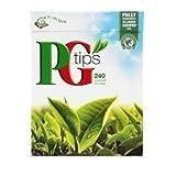 PG Tips Black Tea Pyramid Tea 240 Bags Pack of 2