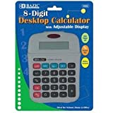 DDI - BAZIC 8-Digit Calculator w/ Adjustable Display (1 pack of 72 items)