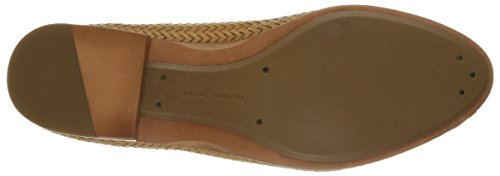 Soft tejida Grain Zapatillas de Woven Frye Tracy la Tan Mocasines mujer Full Leather w5zHBUPHq
