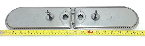 (Music City Metals 15202 Stainless Steel Burner Head Replacement for Select Gas Grill Models by Charmglow, Grill Master and Others)