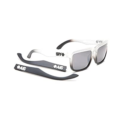 SPY Helm Sunglasses Clear Faded With Grey Polar With Silver Mirro OS -Kids